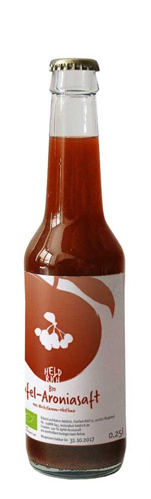 kleine Flasche Apfel-Aronia